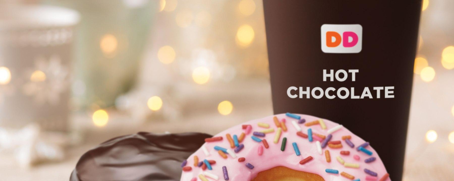 chocolate dunkin donuts
