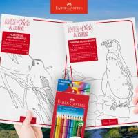 ¡Pinta septiembre con #AvesDeChileAColor de Faber-Castell!