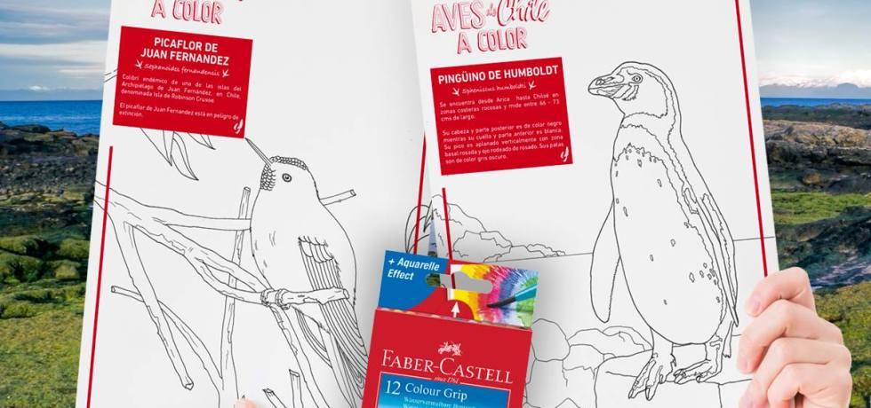 AVES DE CHILE FABER-CASTELL