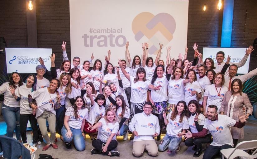 Avon amplifica en Chile #CambiaElTrato, la campaña en que hombres visibilizan la violencia contra lasmujeres