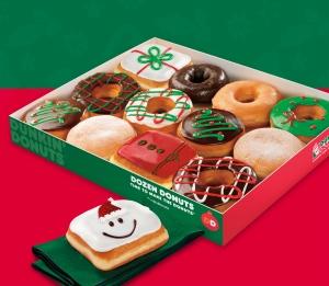 navidad dunkin donuts