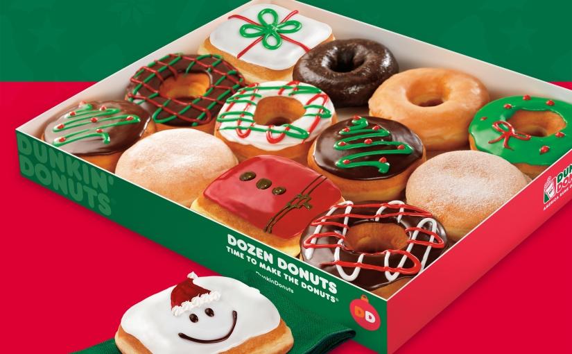 ¡Navidad con Dunkin'Donuts!
