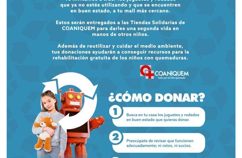 #Navidad Parque Arauco lanza iniciativa de reciclaje de juguetes yrodados