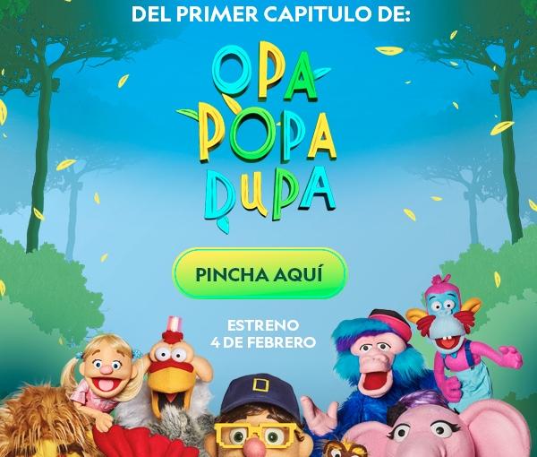 Nueva serie en NatGeo Kids: Opa PopaDupa