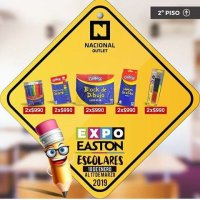 "#BacktoSchool Easton Outlet Mall abre ""Expo Escolar"" e invita a adelantar la compra de útiles escolares"