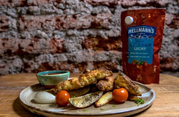 fritos de pescado hellmann's