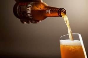 escudo sin filtrar cerveza
