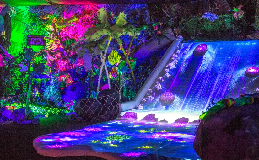 #Panorama 😎 ¡Una Selva Tropical se toma el Mall Costanera Center!