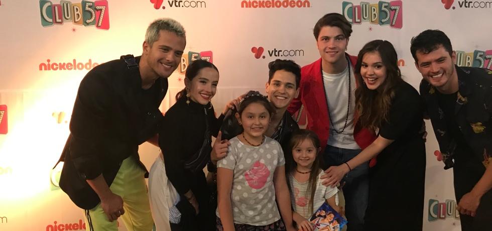 Club 57 Sofía y Olivia Nickelodeon