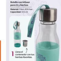 Atención amantes del té: mira esta nueva botella infusora