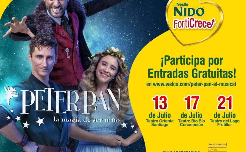 NIDO Forticrece presenta Peter Pan, elmusical